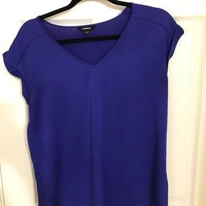 Express Tops - Express Gramercy royal blue blouse size S